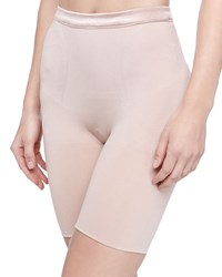 Spanx Slimmer And Shine Mid Thigh Shaping Briefs Black