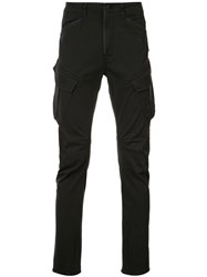 Hudson Side Pockets Tapered Trousers Black