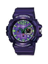 G Shock Classic Series Chronograph Watch Purple