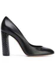 Casadei Almond Toe Pumps Women Leather Nappa Leather Kid Leather 37.5 Black