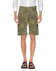 40Weft Bermudas Military Green