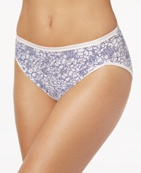 Vanity Fair Illuminations High Cut Brief 13108 Tranquil Lace