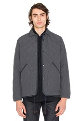 The Hill Side Quilted Ueno Gray
