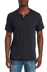 Alternative Apparel Men's Notched Neck Pima Cotton T Shirt