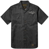 Neighborhood Short Sleeve Mil Souvenir Shirt Black