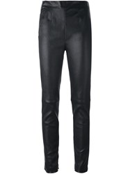 La Perla 'Leisuring' Skinny Trousers Black