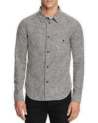 Native Youth Granite Slim Fit Button Down Shirt Gray