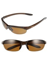 Women's Smith Optics 'Parallel' 65Mm Polarized Sunglasses Brown