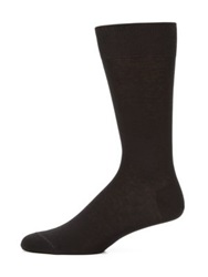 Saks Fifth Avenue Cotton Blend Dress Socks Navy Black Brown Charcoal