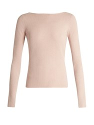 Elizabeth And James Fay Tie Back Long Sleeved Top Nude