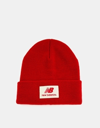 New Balance Troy Beanie Hat Red