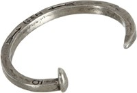 Giles And Brother Giles And Brother Railroad Spike Cuff Silver