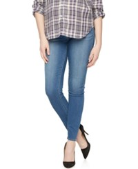 A Pea In The Pod Maternity Secret Fit Belly Skinny Jeans Original Blue Wash