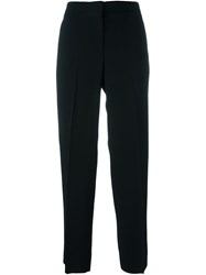Emilio Pucci Tapered Cropped Trousers Black