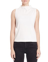 French Connection Sleeveless Funnelneck Top