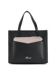 Karl Lagerfeld Small K Pocket Tote 60