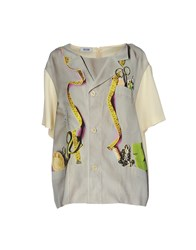 Moschino Cheap And Chic Shirts Light Grey