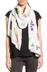 Kate Spade Women's New York Things We Love Oblong Scarf
