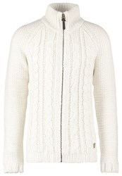 Petrol Industries Cardigan Antik White Off White