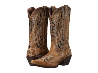 Laredo Crosswing Black Taupe Cowboy Boots