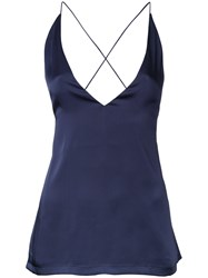 Dion Lee Cami Top Blue