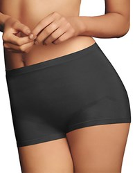Maidenform 2 Pack Everyday Control Boyshort Black