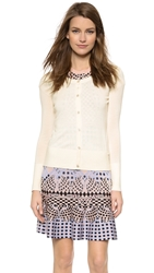 Temperley London Marnie Lace Back Cardigan