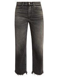 Golden Goose Komo Raw Hem Straight Leg Jeans Grey