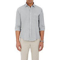 Hartford Solid Voile Shirt Gray