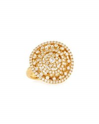Memoire 18K Deluxe Diamond Glitter Cocktail Ring