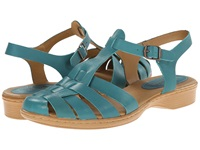 Softspots Holly Turquoise M Vege Women's Sandals Blue
