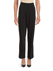 Brunello Cucinelli Relaxed Fit Virgin Wool Trousers Black