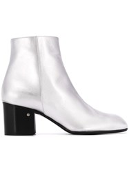Laurence Dacade Selda Ankle Boots Silver