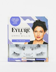 Eylure X Emma Willis All The Aces False Eyelashes All The Aces Black