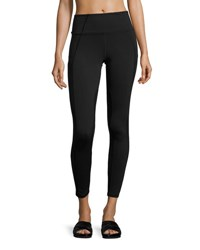 Michi Summit High Waist Performance Legging Green Black