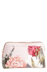Ted Baker Genlee Palace Gardens Cosmetics Bag Dusky Pink
