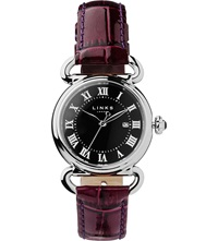 Links Of London Driver Stainless Steel Watch Purple