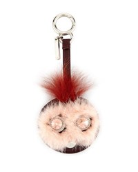 Fendi Bag Bugs Mirror Charm For Handbag Pink