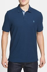Original Penguin Men's 'Daddy O' Pique Polo Dress Blues