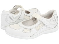 Drew Shoe Delite White Calf White Mesh Women's Maryjane Shoes