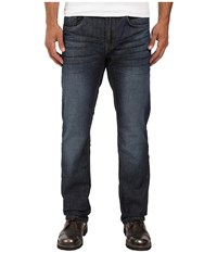 Buffalo David Bitton Six Slim Straight Leg Jeans In Rigid And Slightly Sanded Rigid Slightly Sanded Men's Jeans Blue