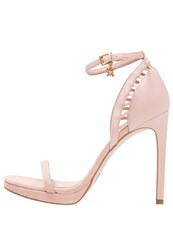 Bcbgeneration Demi High Heeled Sandals Shell Nude