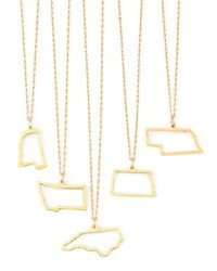 Maya Brenner Designs 14K Gold Necklace M W And Dc Texas