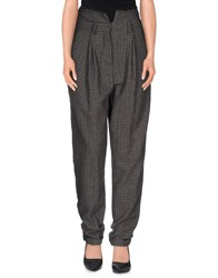 Gaetano Navarra Trousers Casual Trousers Women Grey