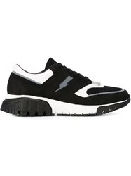 Neil Barrett 'Bolt Runner' Sneakers Black
