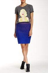 Eleven Paris Tinda Skirt Blue