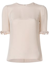 Goat Flo Blouse Nude And Neutrals