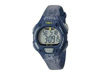 Timex Ironman Classic 30 Mid Size Resin Strap Blue Gray Accent Watches