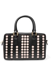 Tory Burch Lily Mini Leather Tote Black