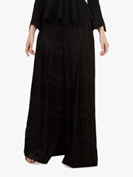 Ted Baker Kallye Wide Leg Drape Trousers Black